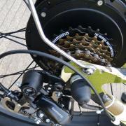 Двигатель 48V 500 Вт и переключатель передач