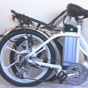 велосиед в сложенном состоянии