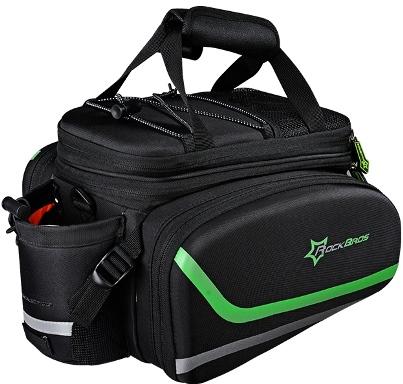 Мультифункциональная сумка RockBros на багажник велосипеда с чехлом от дождя