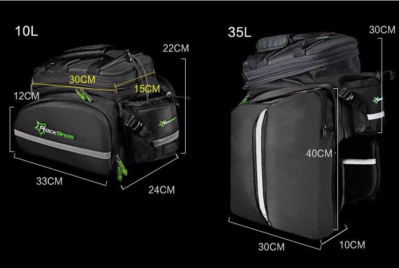 Мультифункциональная сумка RockBros - 1 шт.