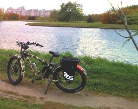 """Электровелосипед """"Странник 500-22"""""""