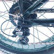 Перключатель скоростей на заднем колесе велосипеда