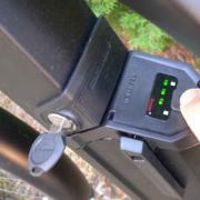 электровелосипед Hawk - индикатор заряда батареи